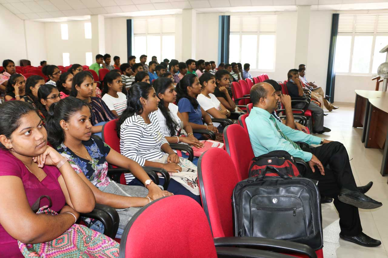 A career guidance program held by IJSE and VTA ministry of higher education