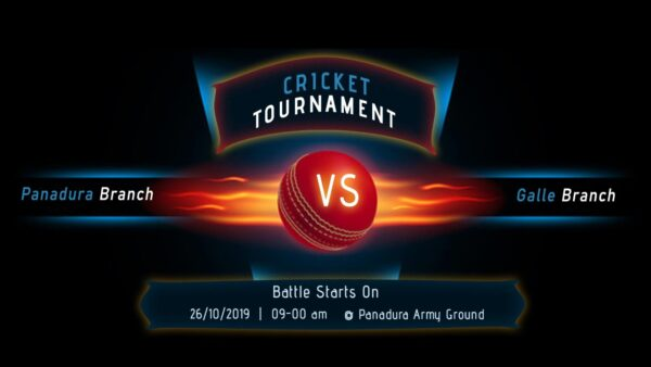 2k19 IJSE Cricket Tournament will be on 26th of October.