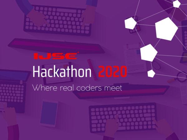 IJSE Hackathon 2020 – Where real coders meet.
