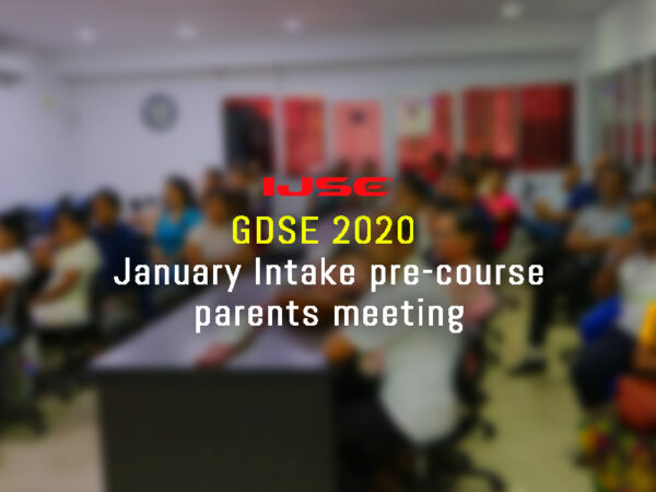 GDSE 2020 Parents meeting held yesterday at Panadura branch.