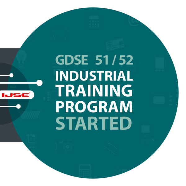 GDSE – Industrial Training Program 2020 Now Commencing.