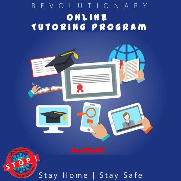 Revolutionary IJSE online tutoring program introduced for IJSE students.