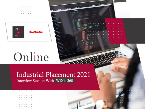 Industrial placement 2021 – Interview session with wixis360