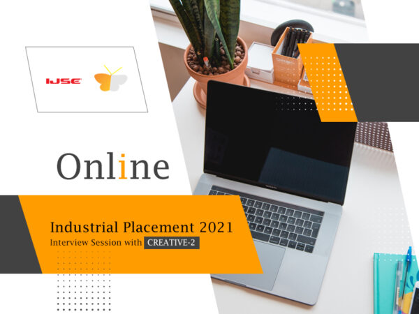 Industrial placement 2021 – Interview session with Creative-2