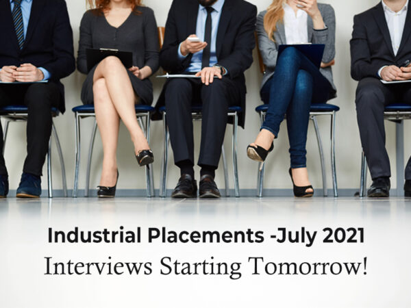 Get ready for the industrial placement – July 2021 (GDSE 55/56)