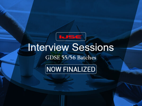 Interview Sessions for GDSE 55 56 Batches Now Finalized